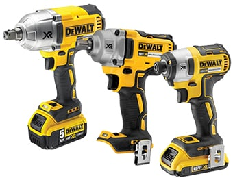 DeWalt Impact Drivers & Wrenches