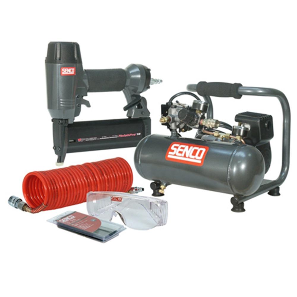 Senco SENPC0964UK2 240v 18 Pneumatic Nailer and Compressor Kit