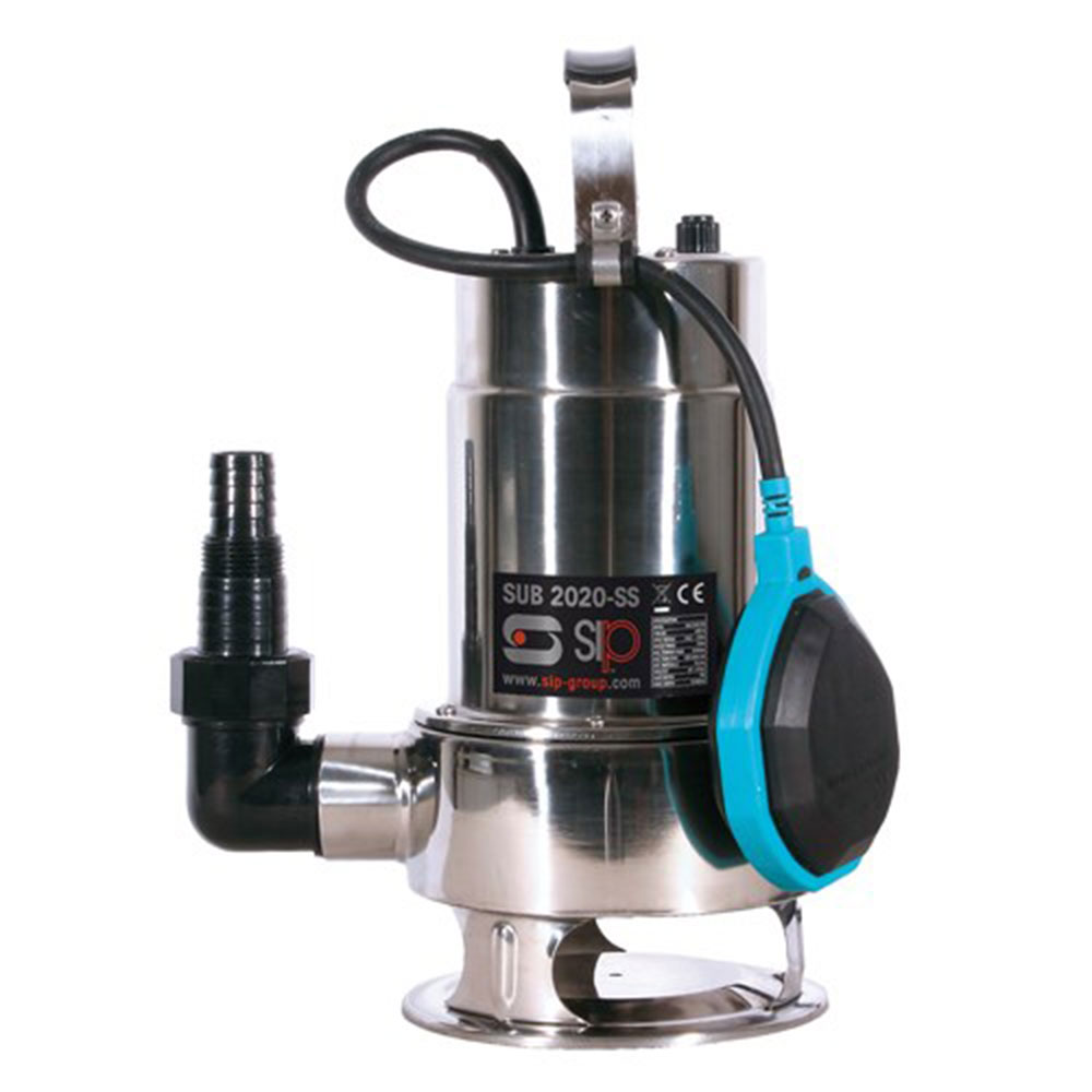 SIP 06819 2020SS Submersible Dirty Water Pump - Stainless Steel