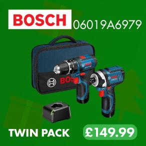 Bosch 12v Twin Pack 2.0Ah Kit