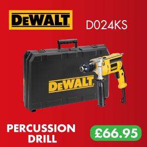 DeWalt D024KS Percussion Drill 240v