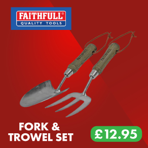 Faithfull Prestige Stainless Steel Hand Tool Set