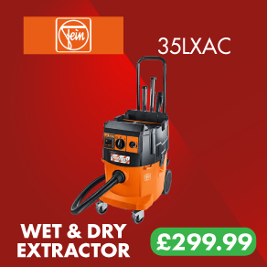 Fein Dustex 35LX-AC L-Class Wet & Dry Dust Extractor With A.F.C.S.
