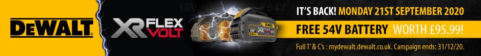DeWalt FlexVolt Battery Redemption Offer