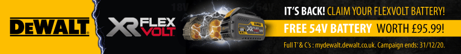 FlexVolt Offer FREE Battery with Selected Kits