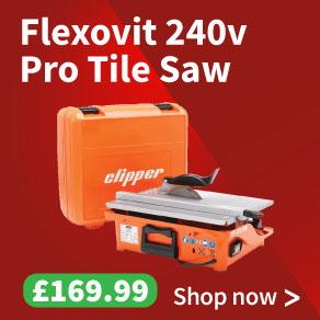 Flexovit TT200EM Pro Tile Saw 240v