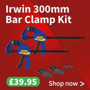 Irwin Quick-Change Medium-Duty Bar Clamp Kit