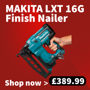Makita DBN600ZJ 18v LXT 16G Finish Nailer - Bare Unit