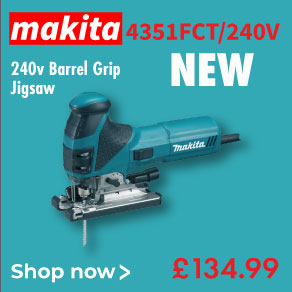 Makita 4351FCT Jigsaw - 240v