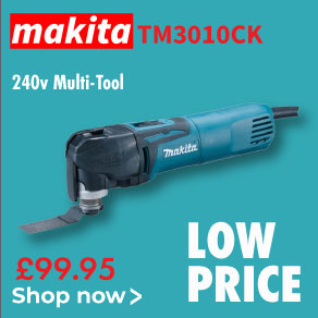 Makita TM3010CK Multi-Tool 240v