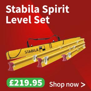 Stabila R-Type Spirit Level Set 3pc