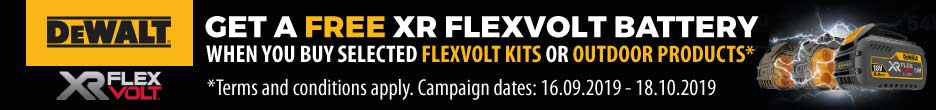 DeWalt FlexVolt Redemption Offer!