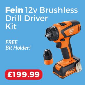 Fein ASCM12Q 12v Brushless Drill Driver 2.5Ah Kit