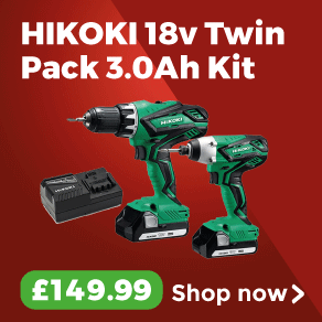 HiKOKI 18v Twin Pack 3.0Ah Kit