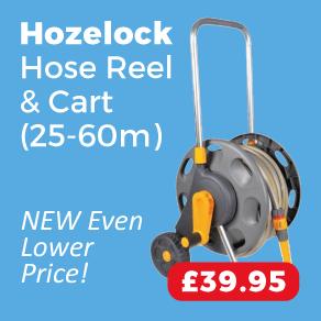 Hozelock 2488 Hose (25m) & Cart 60m