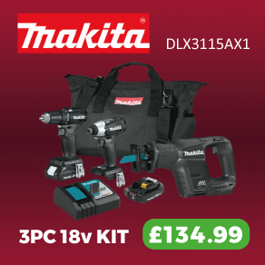 Makita 3 Piece Kit