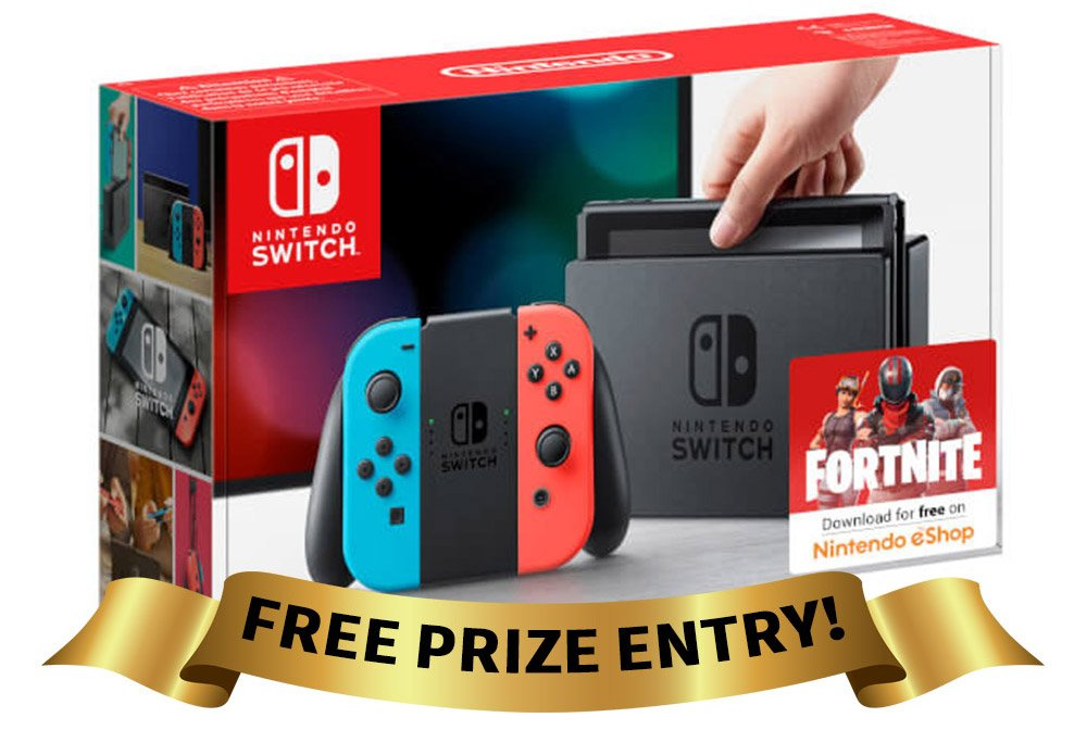 Free Entry to Nintendo Switch Competition